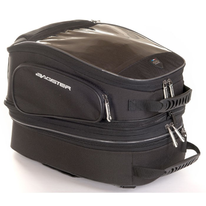BAGSTER universal or magnetic TRAVEL EVO tank bag expandable 24 to 31L - XSR120