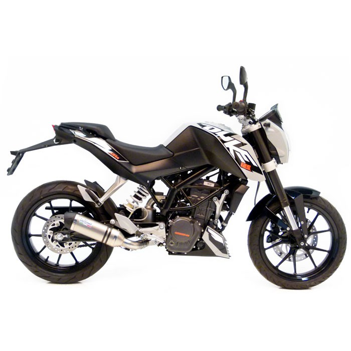 leovince ktm 125 200 duke 2011 2016 lv one evoii inox pot d 39 chappement 8725. Black Bedroom Furniture Sets. Home Design Ideas