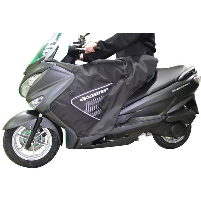 BAGSTER tablier protection hiver BOOMERANG pour Suzuki 125 200 BURGMAN 2014 2020 - XTB270