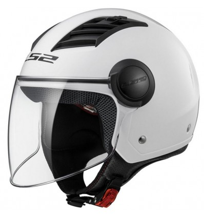 Matt Black Long LS2/Casque moto of562/Airflow XXL