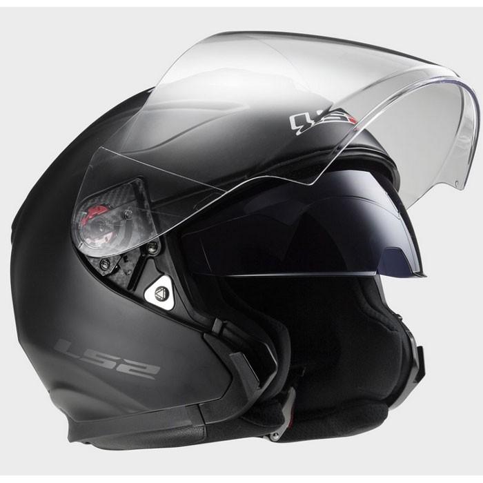 ls2 casque jet moto scooter fibre infinity noir mat. Black Bedroom Furniture Sets. Home Design Ideas