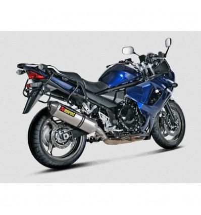 AKRAPOVIC Suzuki GSX 1250 FA 2010 2016 pot d'échappement TITANE homologué CE SLIP-ON 1811-2288