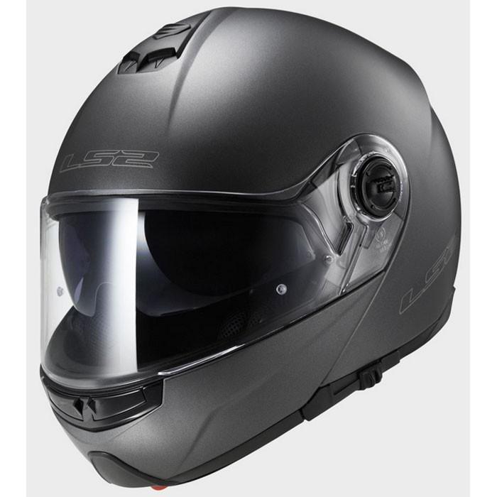 ls2 casque int gral modulable ff325 strobe titane mat moto scooter. Black Bedroom Furniture Sets. Home Design Ideas
