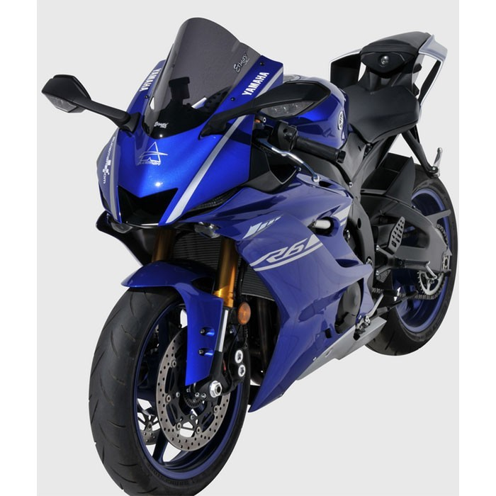 bulle ermax aeromax double galbe yamaha yzf r6 2017 2018. Black Bedroom Furniture Sets. Home Design Ideas