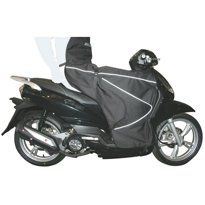 BAGSTER tablier protection hiver BOOMERANG pour Peugeot 50 125 150 TWEET 10/14 - 7535CB