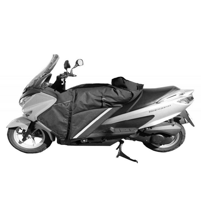 BAGSTER tablier protection hiver été étanche WINZIP pour Suzuki 125 BURGMAN 2014 2020 - XTB180