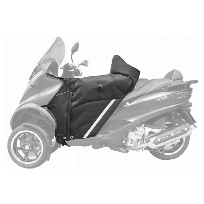 BAGSTER tablier protection hiver été étanche WINZIP pour Piaggio MP3 125 300 400 500 14/19 & 350 500 HPE 19/20 - XTB150