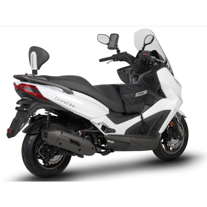 shad backrest scooter kymco 125 300 grand dink and x town. Black Bedroom Furniture Sets. Home Design Ideas