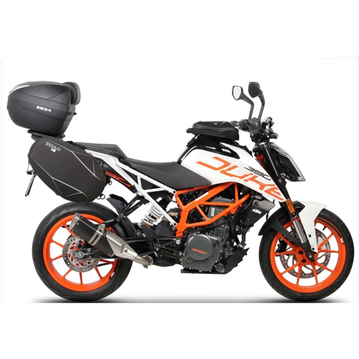 shad side bag holder support sacoches cavali res ktm 125 390 duke 2017 2018 kodk17se sans. Black Bedroom Furniture Sets. Home Design Ideas