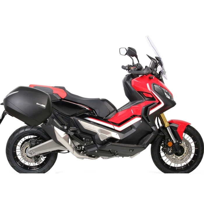 shad p system support valises laterales honda  adv    porte bagage hoxdif
