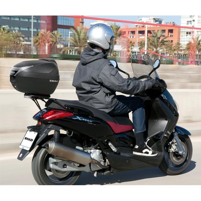 top case shad moto scooter sh34 dob34100. Black Bedroom Furniture Sets. Home Design Ideas