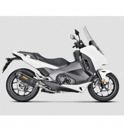 AKRAPOVIC Honda 700 750 INTEGRA 2012 2019 pot d'échappement en CARBONE homologué EURO 4 SLIP ON 1811 3156