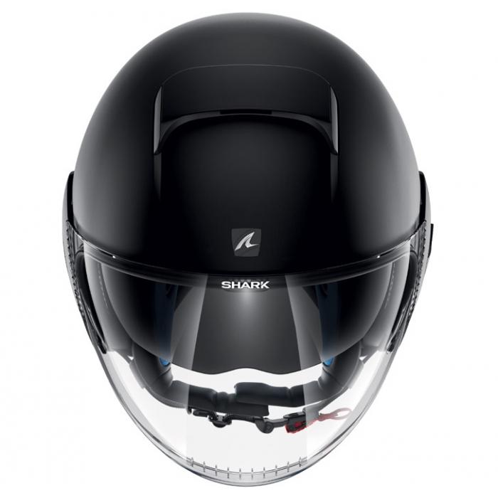 Shark Nano Blank Kma Jet Helmet Motorcycle Scooter Matt Black
