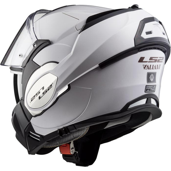 ls2 casque int gral modulable en jet ff399 valiant moto scooter blanc brillant. Black Bedroom Furniture Sets. Home Design Ideas