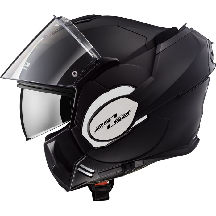 ls2 casque int gral modulable en jet ff399 valiant moto scooter noir mat. Black Bedroom Furniture Sets. Home Design Ideas