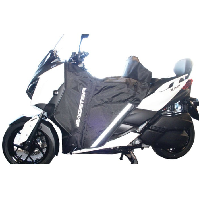 bagster tablier protection hiver t tanche winzip pour yamaha 300 xmax 2017 125 400 xmax. Black Bedroom Furniture Sets. Home Design Ideas