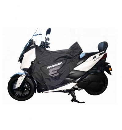 bagster tablier protection hiver boomerang pour yamaha 300 xmax 2017 125 400 xmax 2018. Black Bedroom Furniture Sets. Home Design Ideas