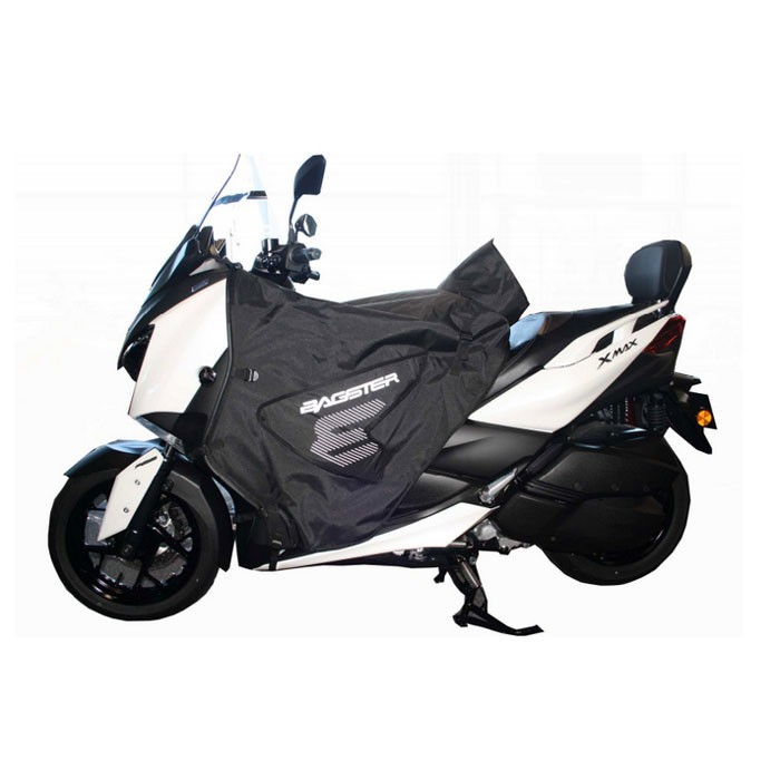 bagster yamaha 300 xmax 2017 125 400 xmax 2018 boomerang winter apron xtb020 silverstone motor. Black Bedroom Furniture Sets. Home Design Ideas