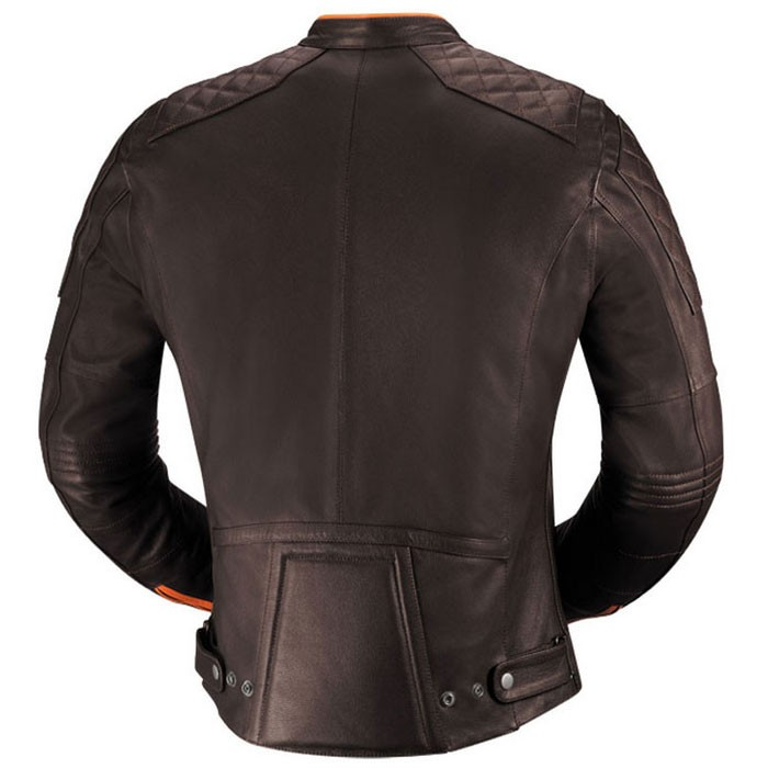 ixs blouson moto eliott cuir homme vintage toutes saisons marron promo silverstone motor. Black Bedroom Furniture Sets. Home Design Ideas