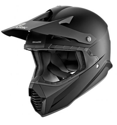 Shark Varial Blank Kma Cross Enduro Quad Trail Helmet Matt Black