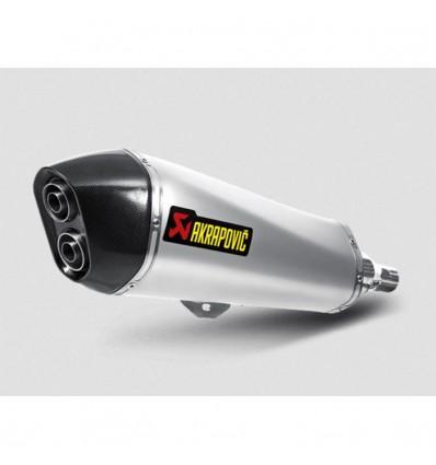 AKRAPOVIC Piaggio MP3 400 & 400 LT 2008 2013 pot d'échappement INOX homologué CE SLIP-ON 1811-2593