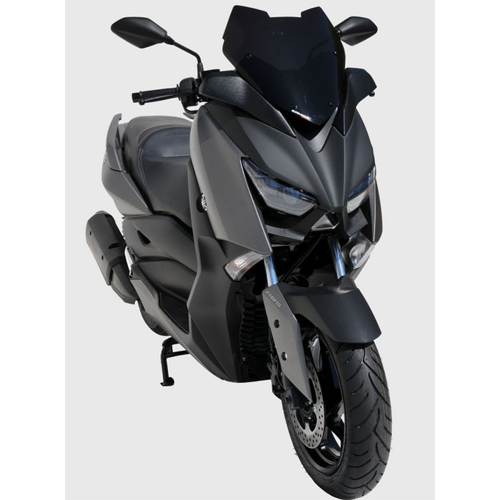 yamaha 125 250 xmax 2018 pare brise sport 41cm silverstone motor. Black Bedroom Furniture Sets. Home Design Ideas