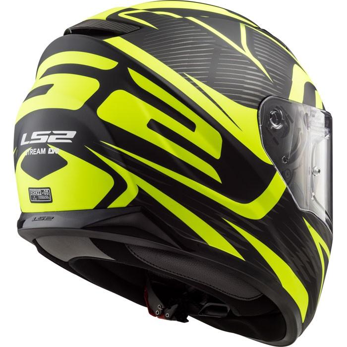 Ls2 Ff320 Stream Evo Jink Integral Helmet Matt Black Fluo