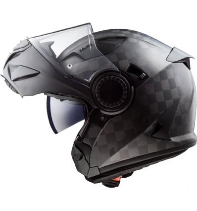 LS2 FF313 VORTEX CARBON modular in jet helmet moto scooter matt carbon
