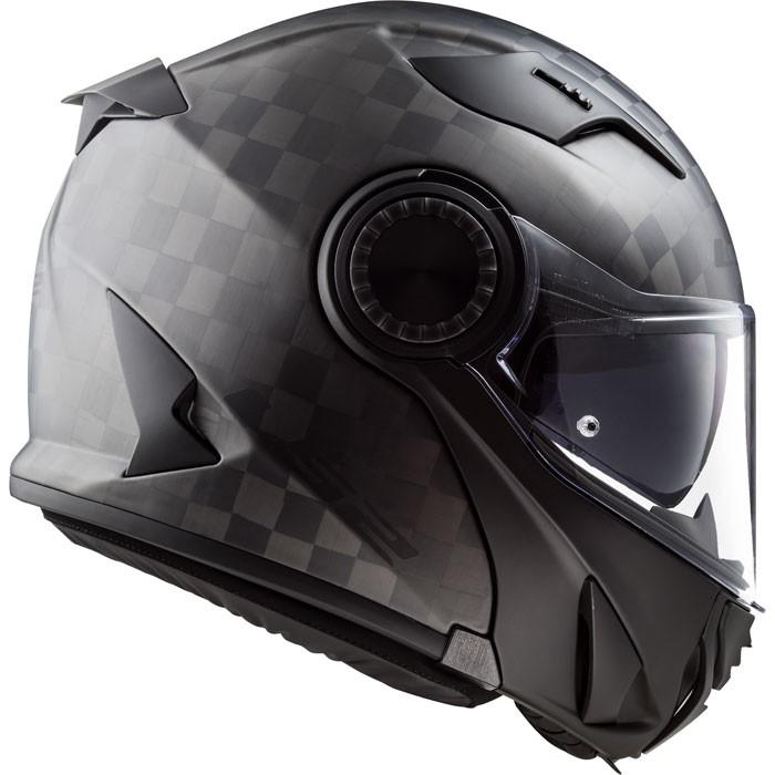 ls2 casque int gral modulable en jet ff313 vortex carbone moto scooter carbone mat. Black Bedroom Furniture Sets. Home Design Ideas