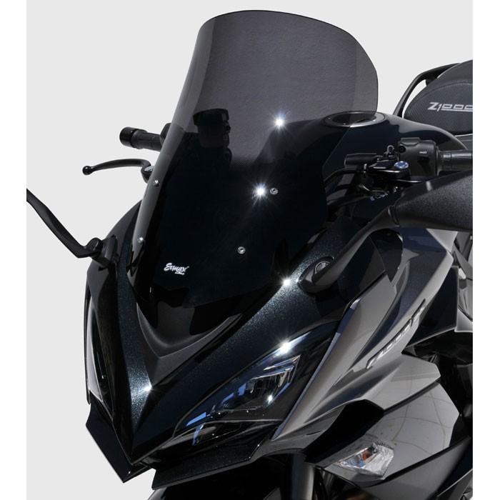 ermax kawasaki Z1000 SX 2017 2019 bulle HP +5 - hauteur 50cm