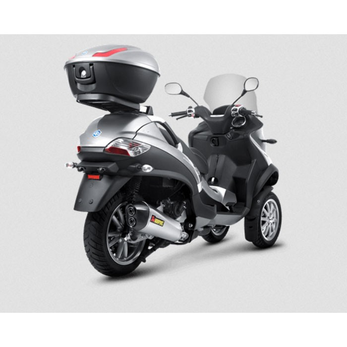 akrapovic piaggio mp3 500 500 lt 2008 2016 pot d 39 chappement inox homologu ce slip on 1811 2593. Black Bedroom Furniture Sets. Home Design Ideas