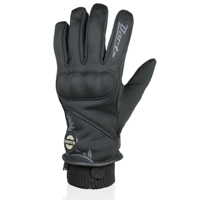 HARISSON PORTLAND woman winter motorcycle scooter waterproof leather & textile gloves EPI