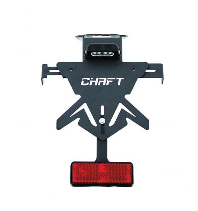 CHAFT support de plaque universel réglable pour moto SUZUKI GSXS 750 1000 GSR 750 SV 650