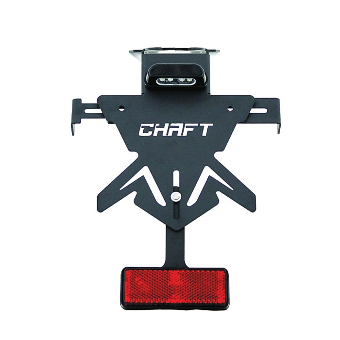 CHAFT universal adjustable universal license plate holder for TRIUMPH STREET TWIN 900 motorcycle