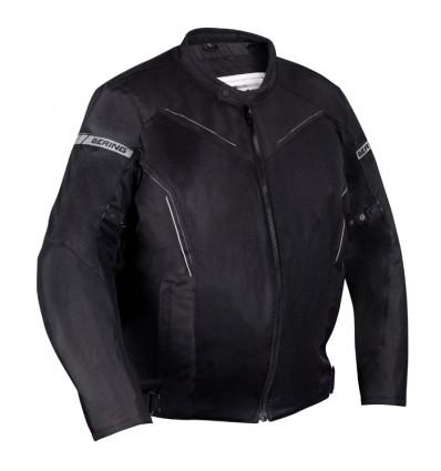 bering blouson moto cancun textile homme sport t noir gris king size btb640. Black Bedroom Furniture Sets. Home Design Ideas