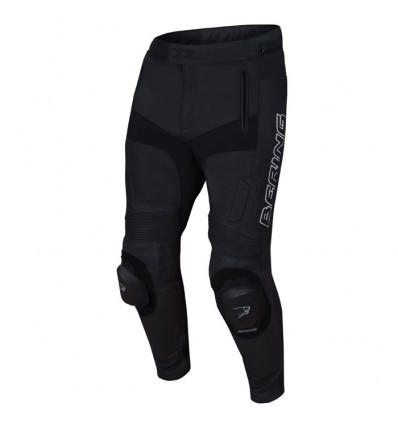 BERING pantalon cuir TYPE-R moto homme RACING noir BCP050 5e6e3d175593