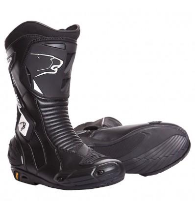 BERING bottes moto cuir SPORT GT route X-RACE-R noir BBO110