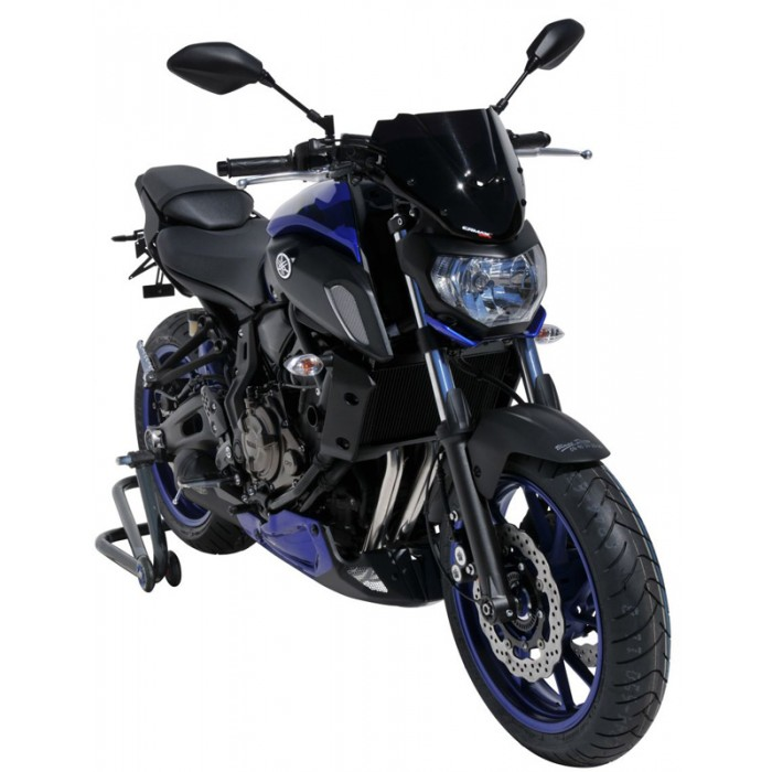 yamaha mt07 2018 2019 sport windscreen 27cm. Black Bedroom Furniture Sets. Home Design Ideas