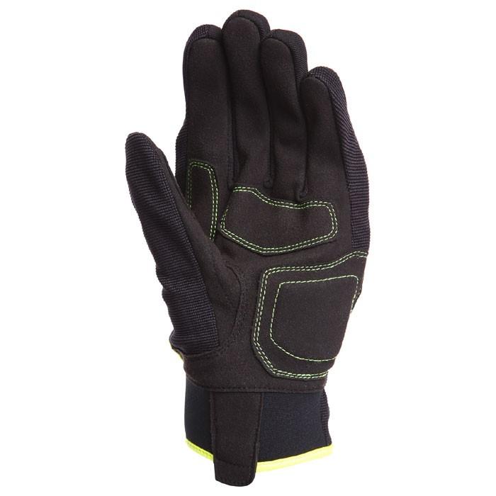 bering gants textile fletcher moto scooter t homme noir fluo bge167. Black Bedroom Furniture Sets. Home Design Ideas