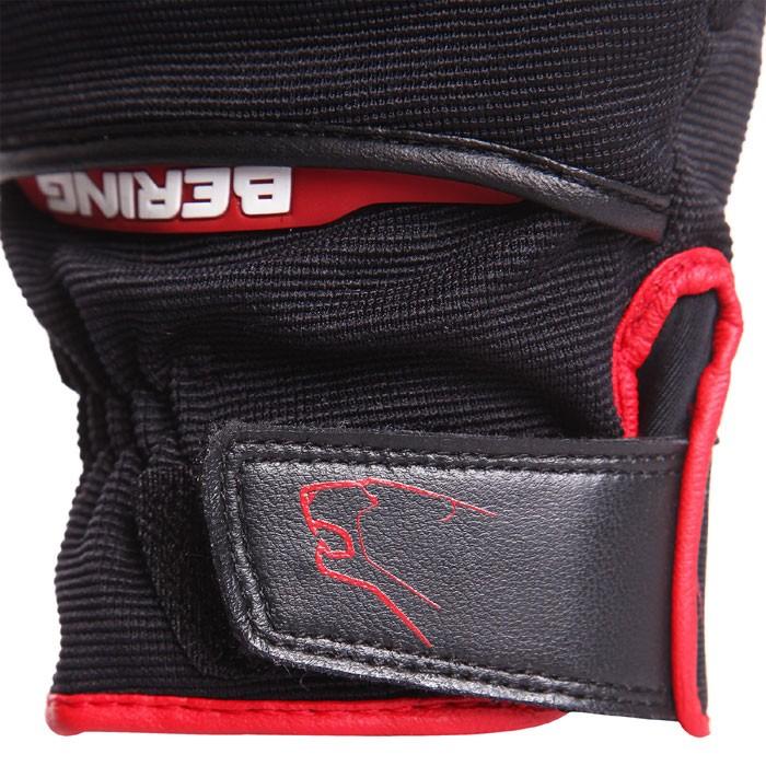 bering gants textile fletcher moto scooter t homme noir rouge bge161. Black Bedroom Furniture Sets. Home Design Ideas