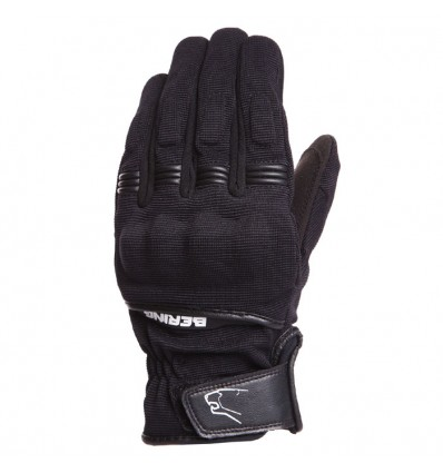 BERING Lady FLETCHER textile woman summer motorcycle scooter gloves black BGE200