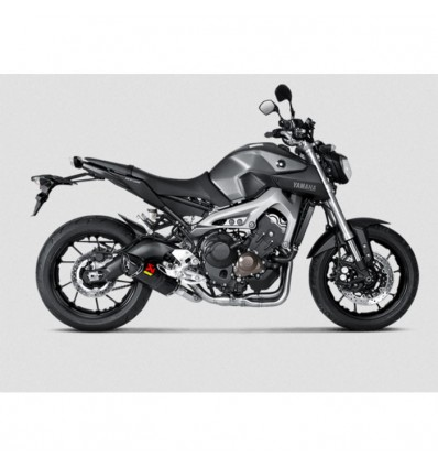 AKRAPOVIC Yamaha MT09 2014 2019 RACING full system CARBON silencer not approved 1810-2216