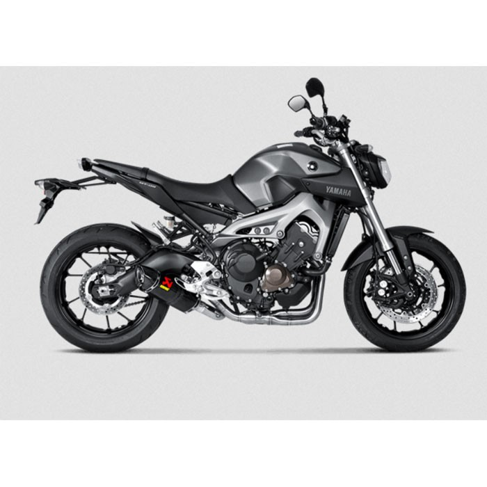 AKRAPOVIC Yamaha MT09 2014 2020 RACING full system CARBON silencer not approved 1810-2216