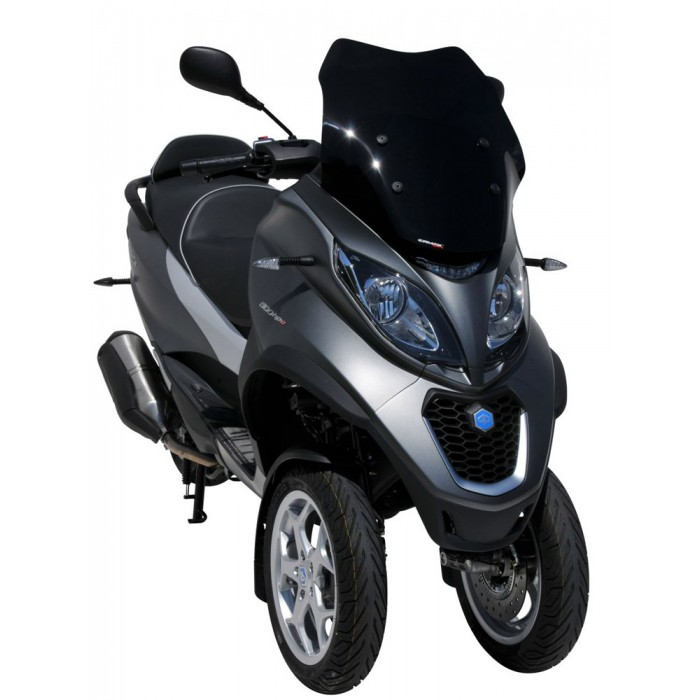 piaggio mp3 350 500 hpe sport business 2018 2019 pare brise sport 51cm. Black Bedroom Furniture Sets. Home Design Ideas