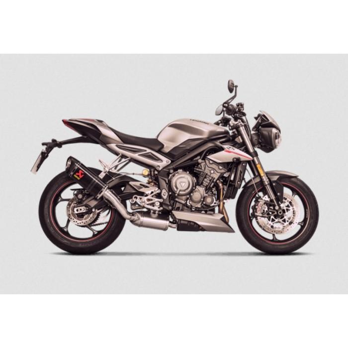Akrapovic Triumph Street Triple 765 S R Rs 2018 2019 Carbon Exhaust