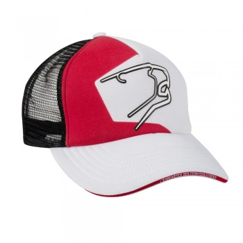 895df0f5424b9c BERING sportswear RACING motorcycle scooter man woman cap black white red -  BAA111 ...