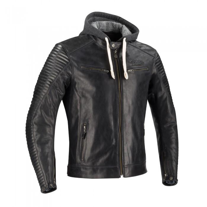 segura blouson moto dorian cuir homme vintage toutes saisons noir scb1350. Black Bedroom Furniture Sets. Home Design Ideas