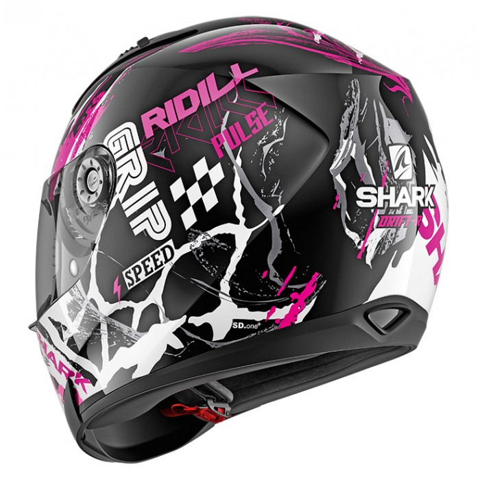 Shark Integral Motorcycle Helmet Ridill Drift R Kvw Woman Gloss