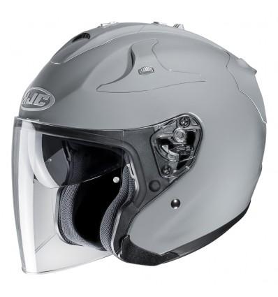 Blanc Taille L HJC Casque Moto FG-JET