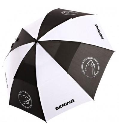 BERING parapluie moto scooter sportswear noir-blanc - BPM010